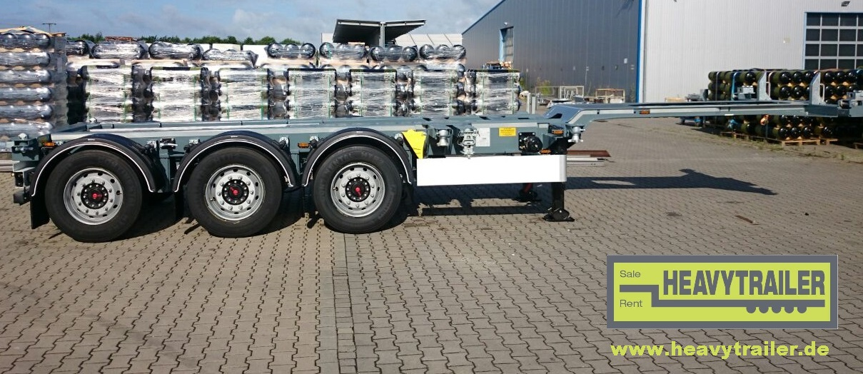 HeavyTrailer 3-Achs-Containerchassis