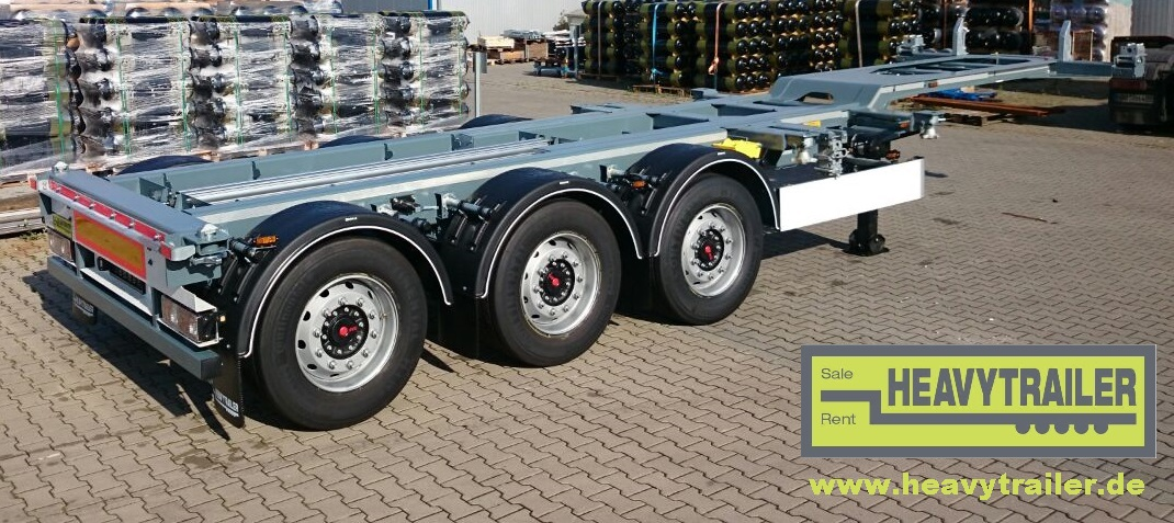 HeavyTrailer 3-Axle-containerchassis