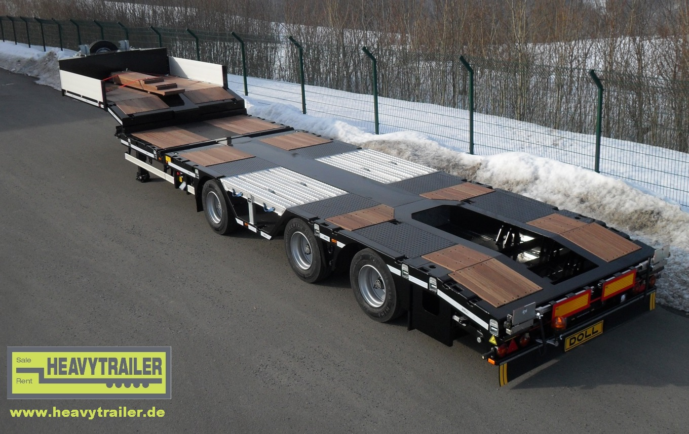 DOLL 3-axle-semi-trailer