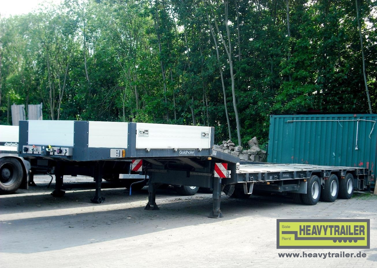Goldhofer STN-L 3-39/80 A (3-axle-semi-trailer)