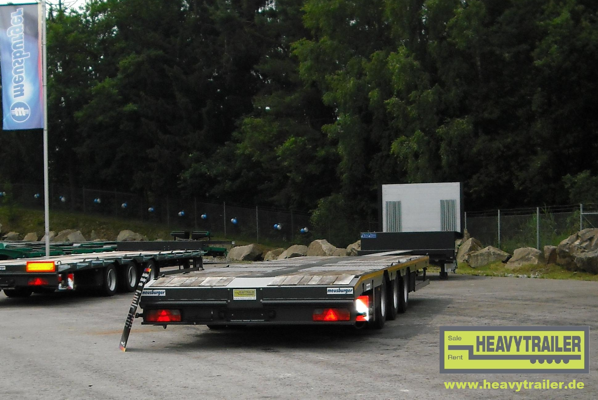 Meusburger 3-axle-semi-trailer