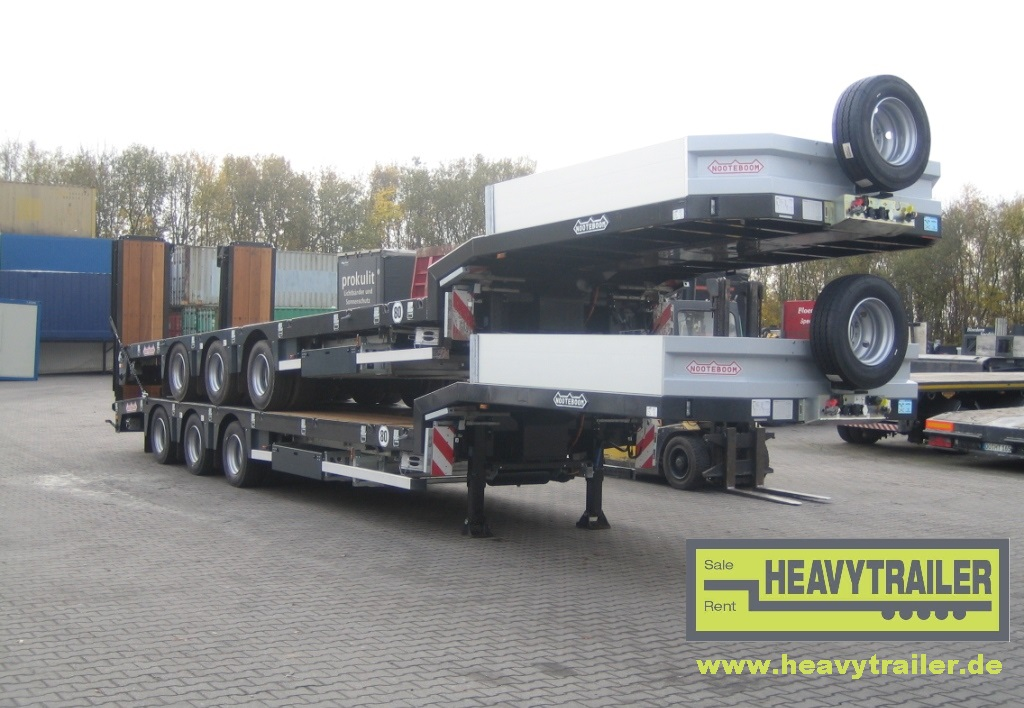 Nooteboom OSDS-48-03V(EB)(3-axle-semi-trailer with hydraulic ramps)