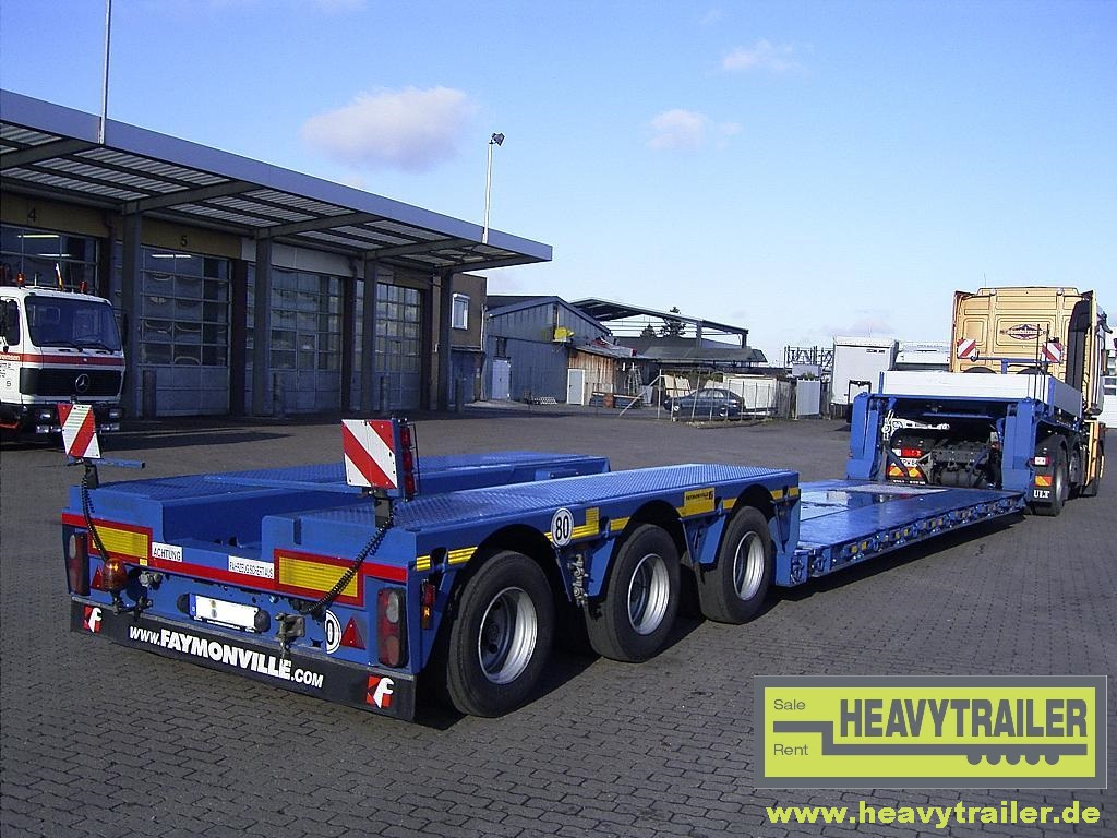 Faymonville 3-axle MEGAMAX (3-axle-low-deck-trailer)