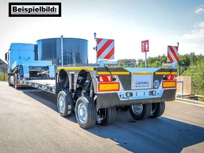 Maxtrailer 2-axle-low deck-trailer with pendle axles MAX 510